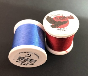 Нитки Fish Hawk Nylon Size A 100 M Spools