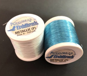 Нитки Fish Hawk Metallic P Size A 100 Yard Spools